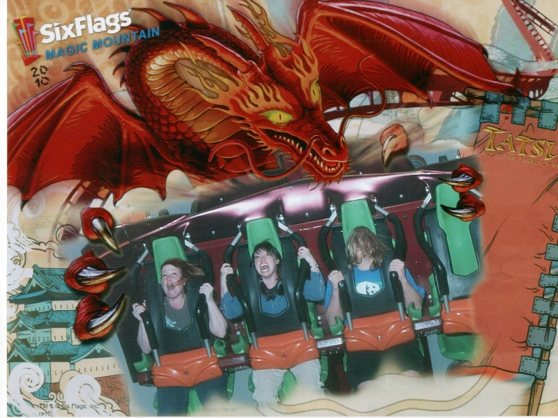 six-flags-magic-mountain-roller-coaster